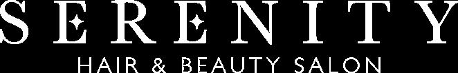 Serenity Hair & Beauty Salon Logo